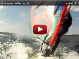 funboard en Hollande, filmée avec deux Caméras embarquées, GOPRO HD